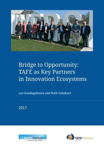2017 TDA study tour report - Bridge to opportunity 1